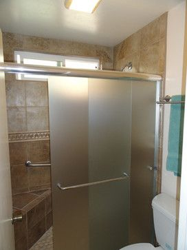 Sliding Frosted Glass Shower Doors Bathroom Shower Doors