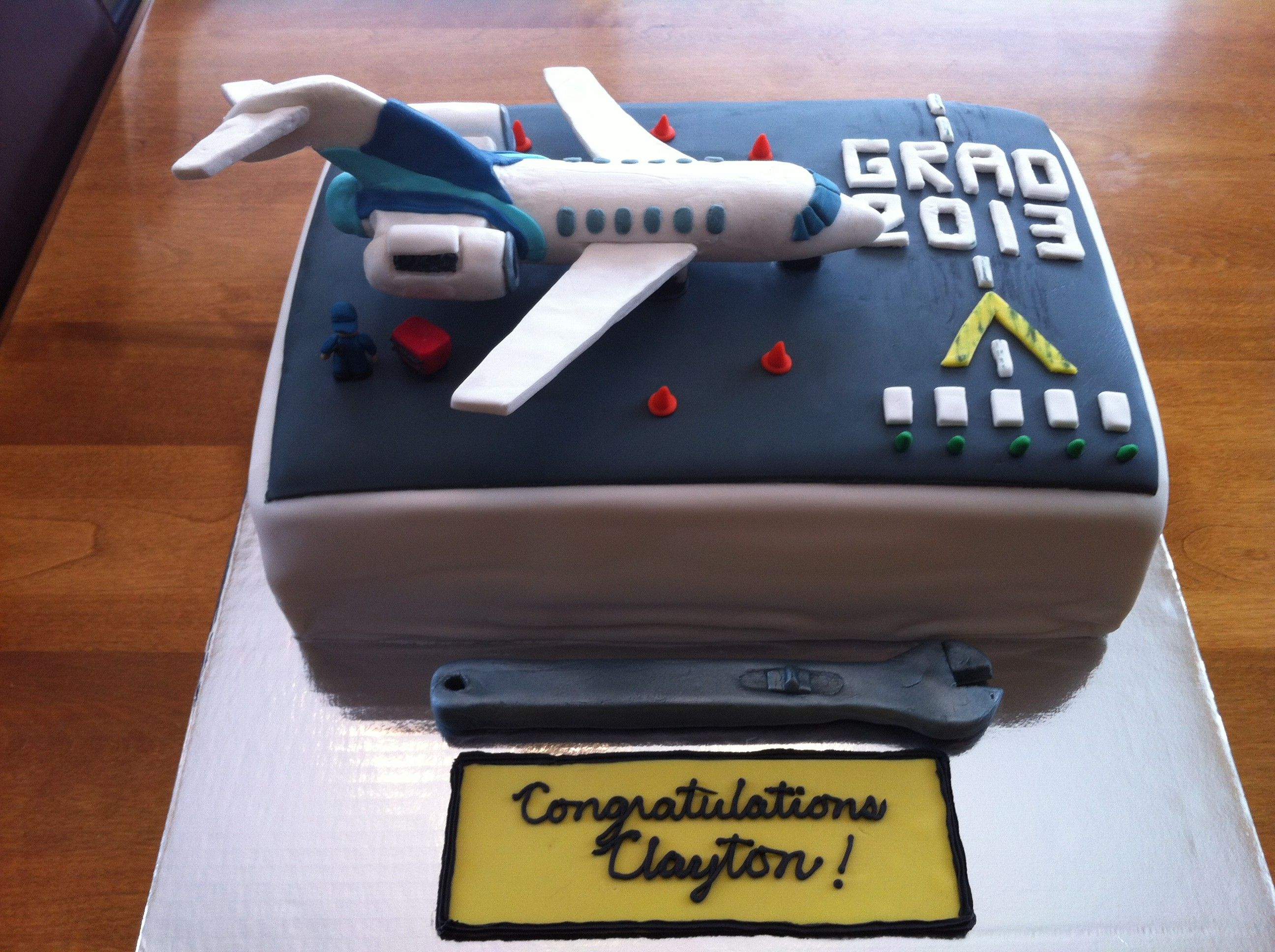 Aircraft Mechanics Program Grad Cake My Gluten Free Baking