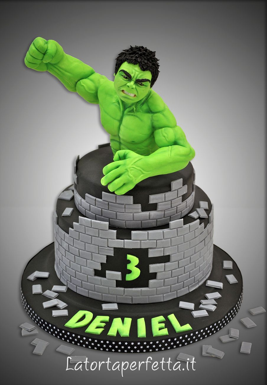 Torte Compleanno Bambini Hulk.Hulk Cake Torte Di Hulk Torte