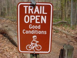 Trail Open Montain Bike Bike Poster Moab Trails