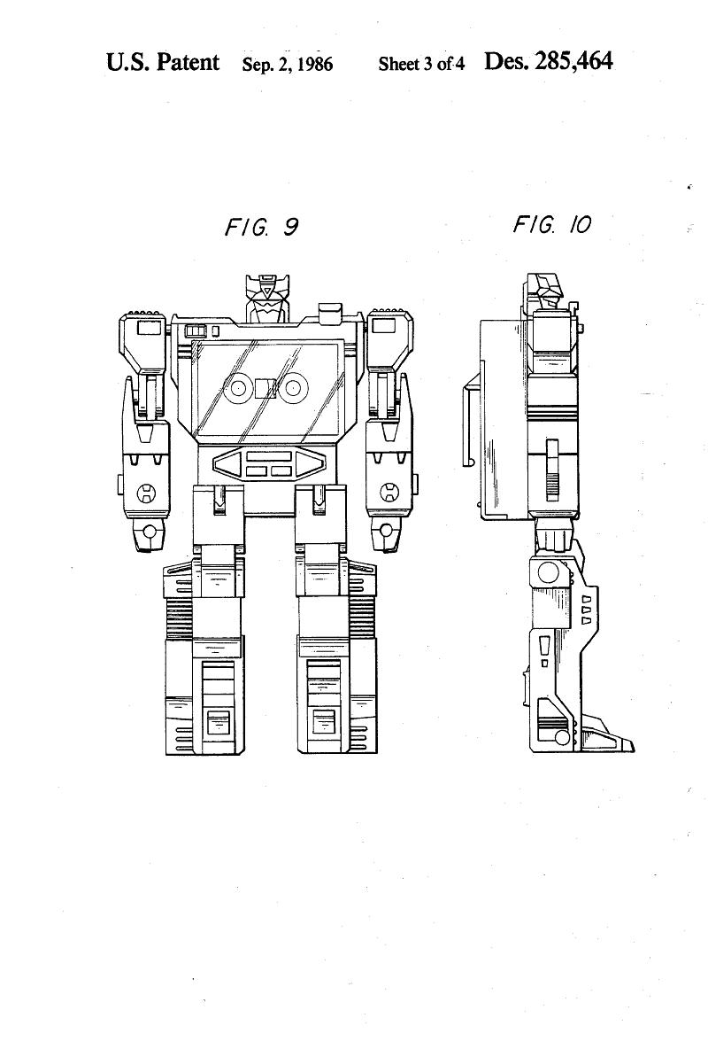 soundwave patent drawing
