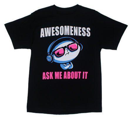 Awesomeness - Family Guy T-shirt, http://www.amazon.com/dp/B00COG8TOM/ref=cm_sw_r_pi_awd_UEchsb1FFW854
