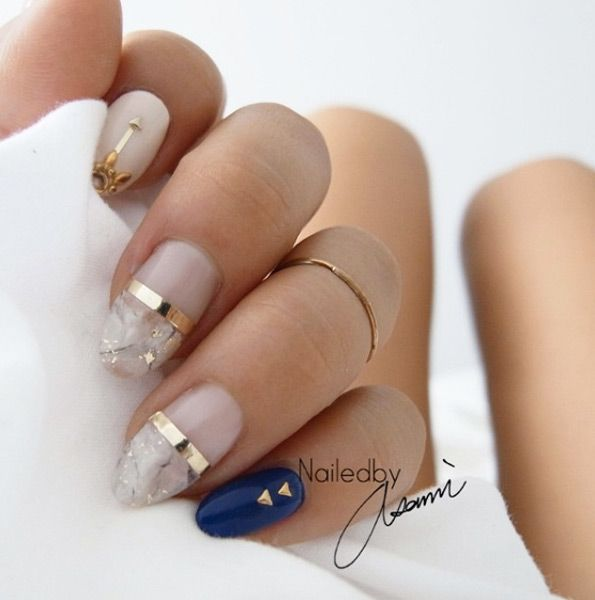 40 Crazy Cool Nail Designs For Fall Unghii I Idei