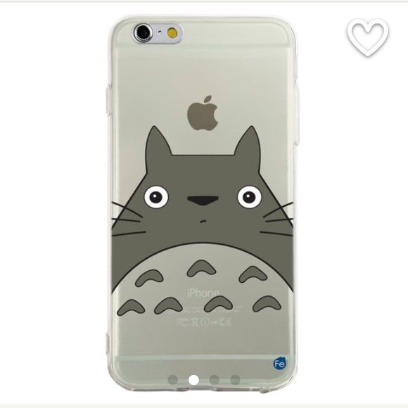 Totoro anime iPhone 6s case clear Cute protective cover. Bought as a custom handmade item Accessories Phone Cases