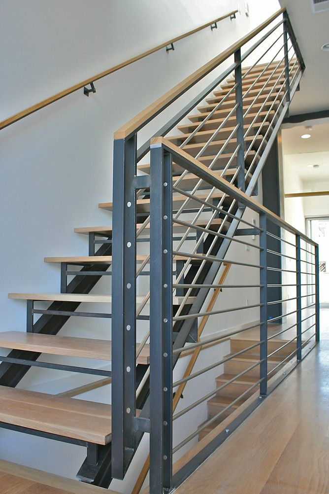 522 Industries Stairs And Railings Wood On Top New House