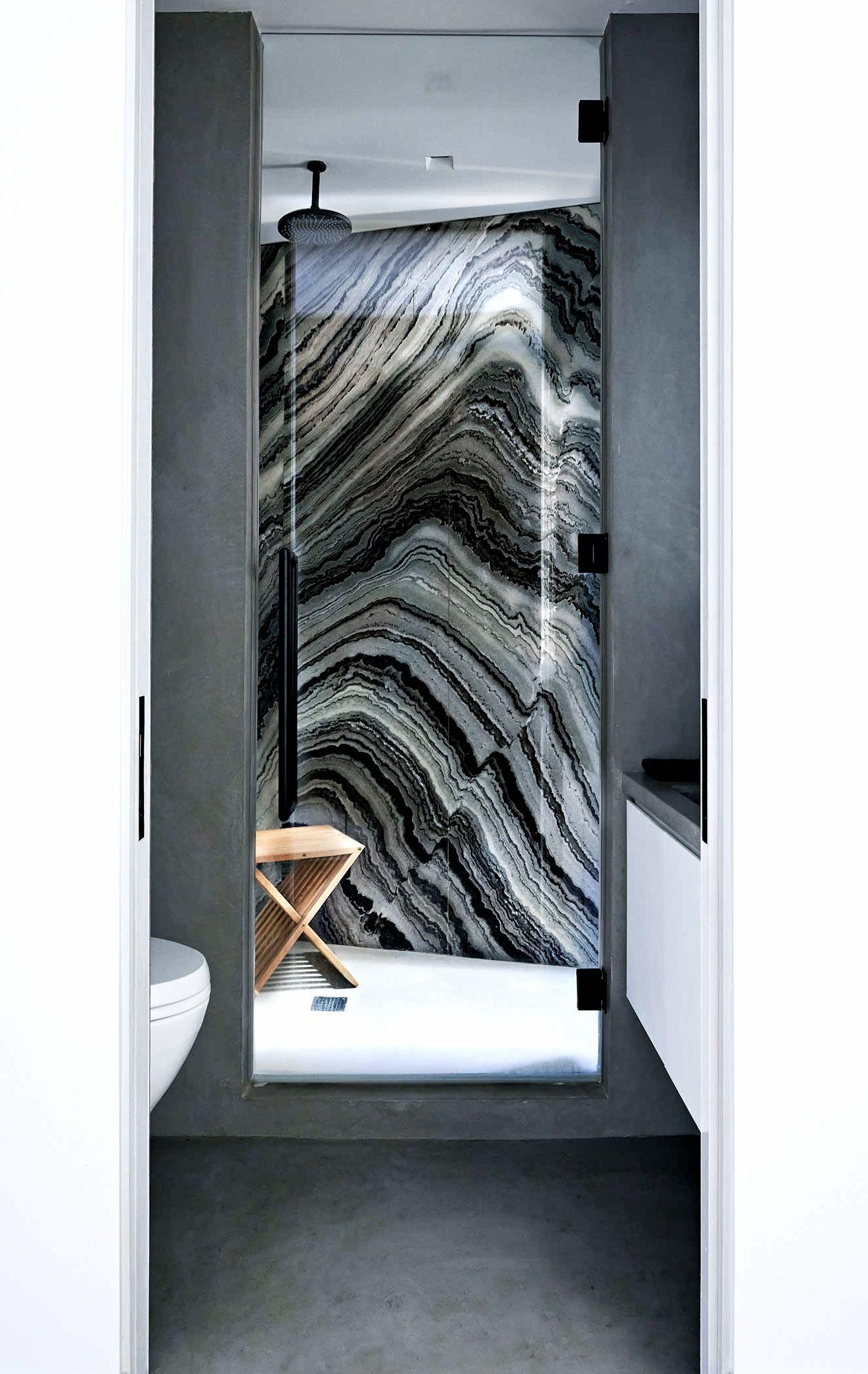 Inside An Un Designed West Village Apartment Black Marble Bathroom Marble Bathroom Designs Small Apartment Bathroom