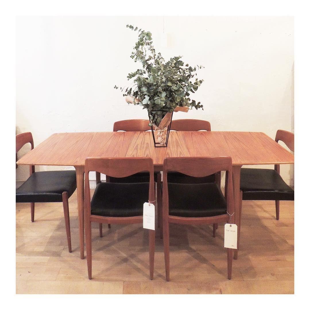 Mesa Danesa De Madera De Teca Sof Dan S A Os 60 Butaca De Caoba  # Muebles Teka Barcelona