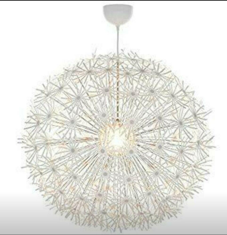 Ikea Onsjo Hanging Pendant Chandelier Lamp Led Light Bulbs New
