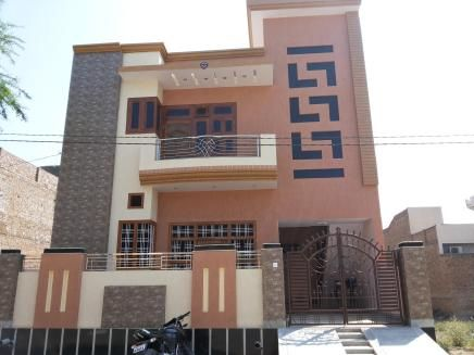 Exterior Elevation Of Stair Case Front House Elevation Small   Exterior Stairs Designs Of Indian Houses   Railing   Outdoor   Residential House   Metal   Modern