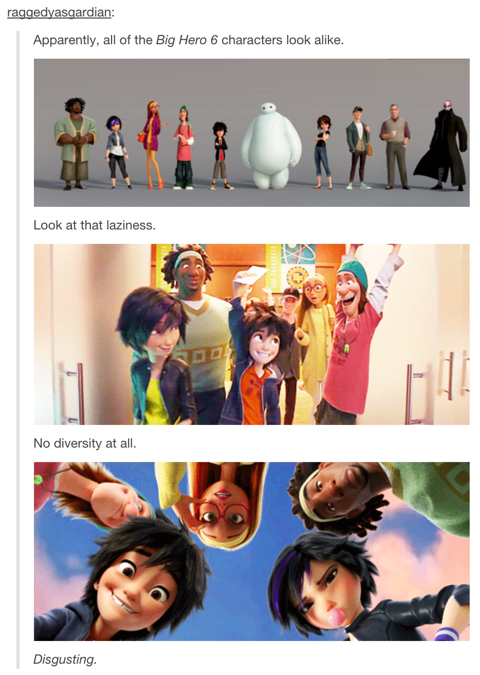 Absolutely Disgusting Haha Gosh Some People Just Don T Know What They Re Talking About Big Hero Big Hero 6 Disney Marvel