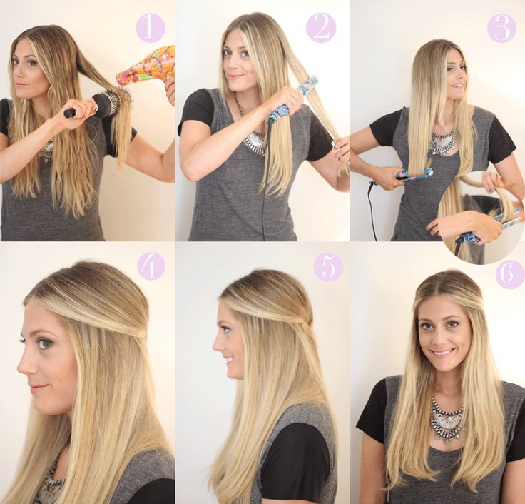 The easiest everyday hairstyle tutorial hazlo t misma do the easiest everyday hairstyle tutorial solutioingenieria Image collections