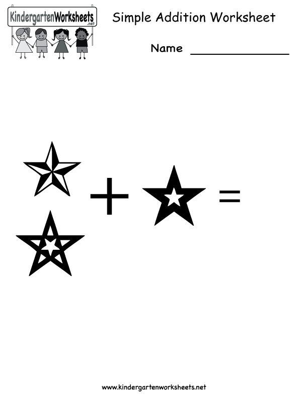 Addition Worksheets – Free Printable Simple Addition Worksheets