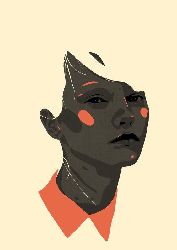 Face Off On Behance Illyustracii Art Vektornye Illyustracii