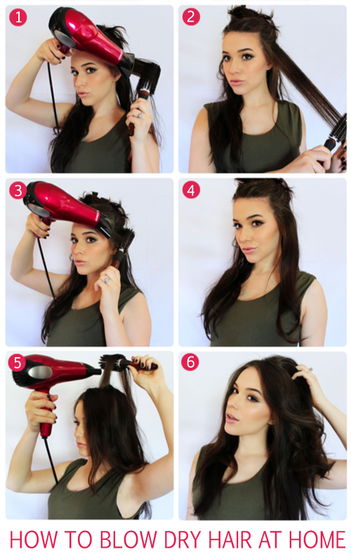 Are You Searching For Tips On How To Blow Dry Your Hair At Home Then No Need To Worry These Provided Tips Blow Dry Hair Blow Dry Hair Straight Blowout Hair