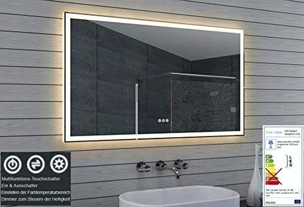 Lux Aqua Led Beleuchtung Badezimmerspiegel Kaltweiss Warmweiss