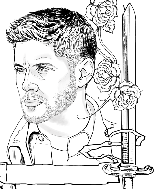 supernatural coloring pages Supernatural coloring page Dean Winchester | Coloring Pages  supernatural coloring pages
