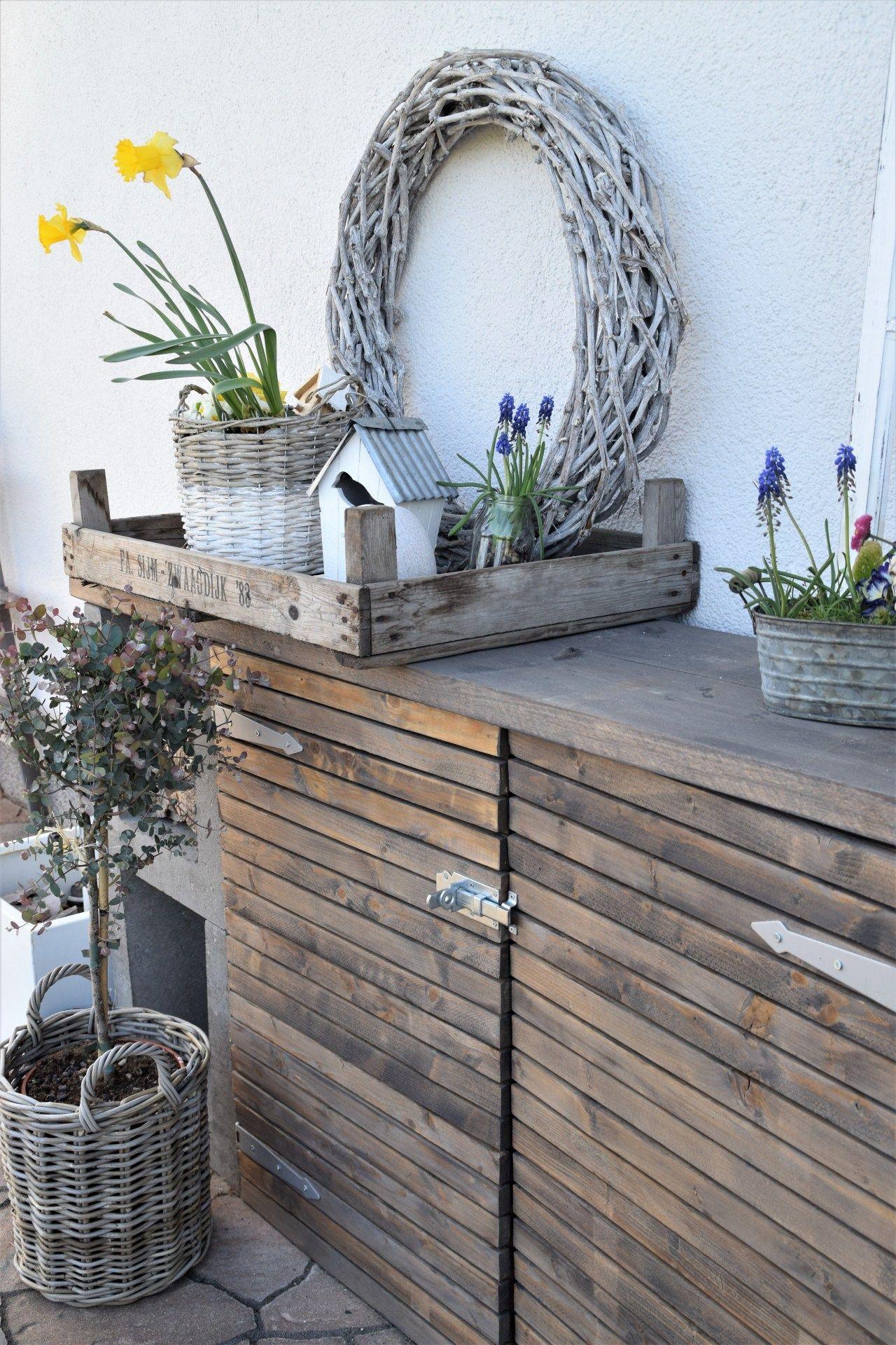 DIY Kommode für den Garten #palettengarten