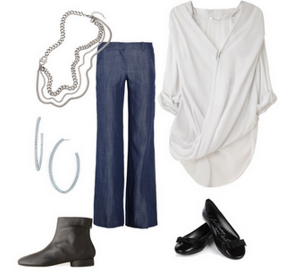 created this casual look in polyvore