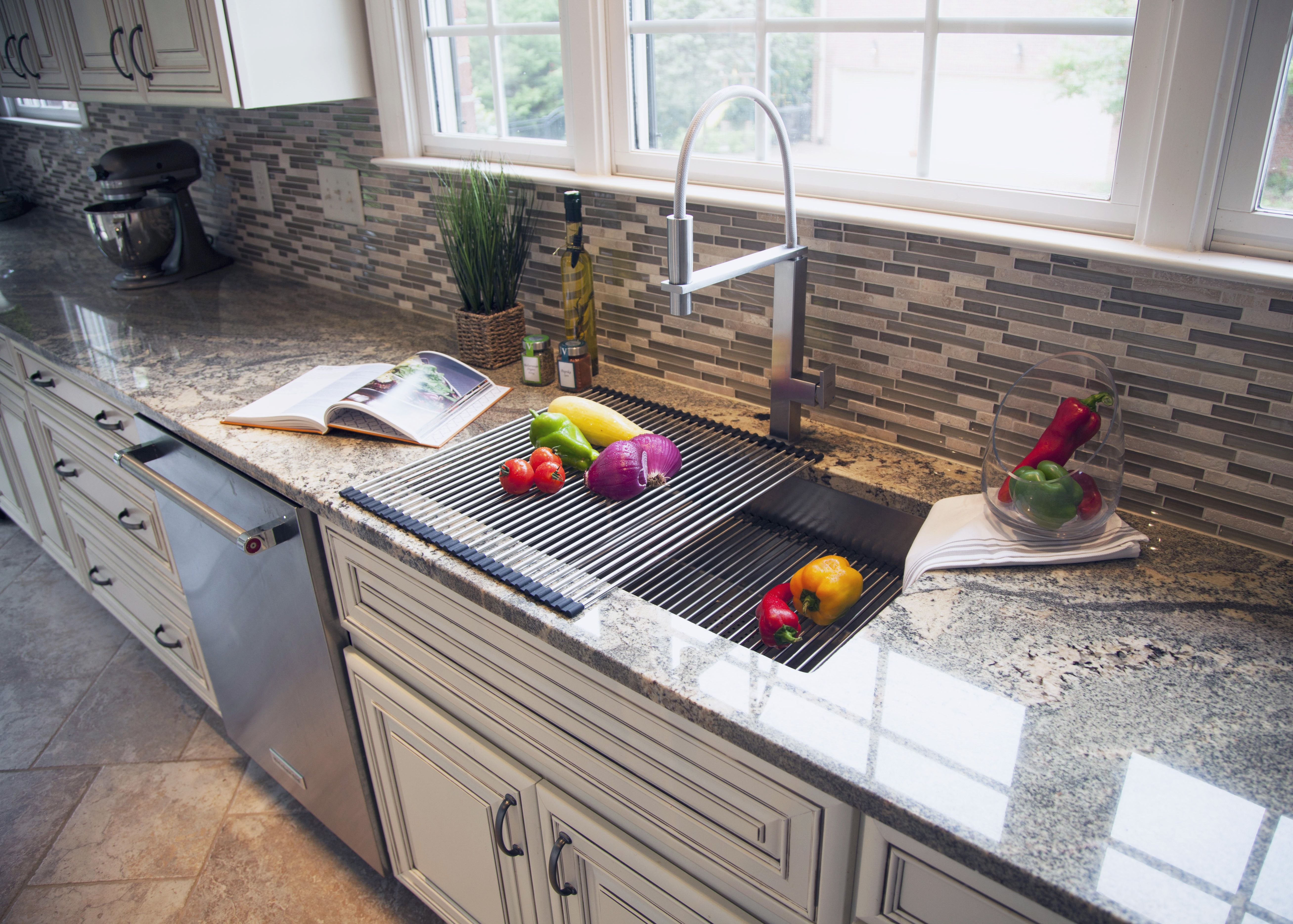 the franke integral ledge our signature innovation transforms your kitchen into a multi - Multi Kitchen Ideas