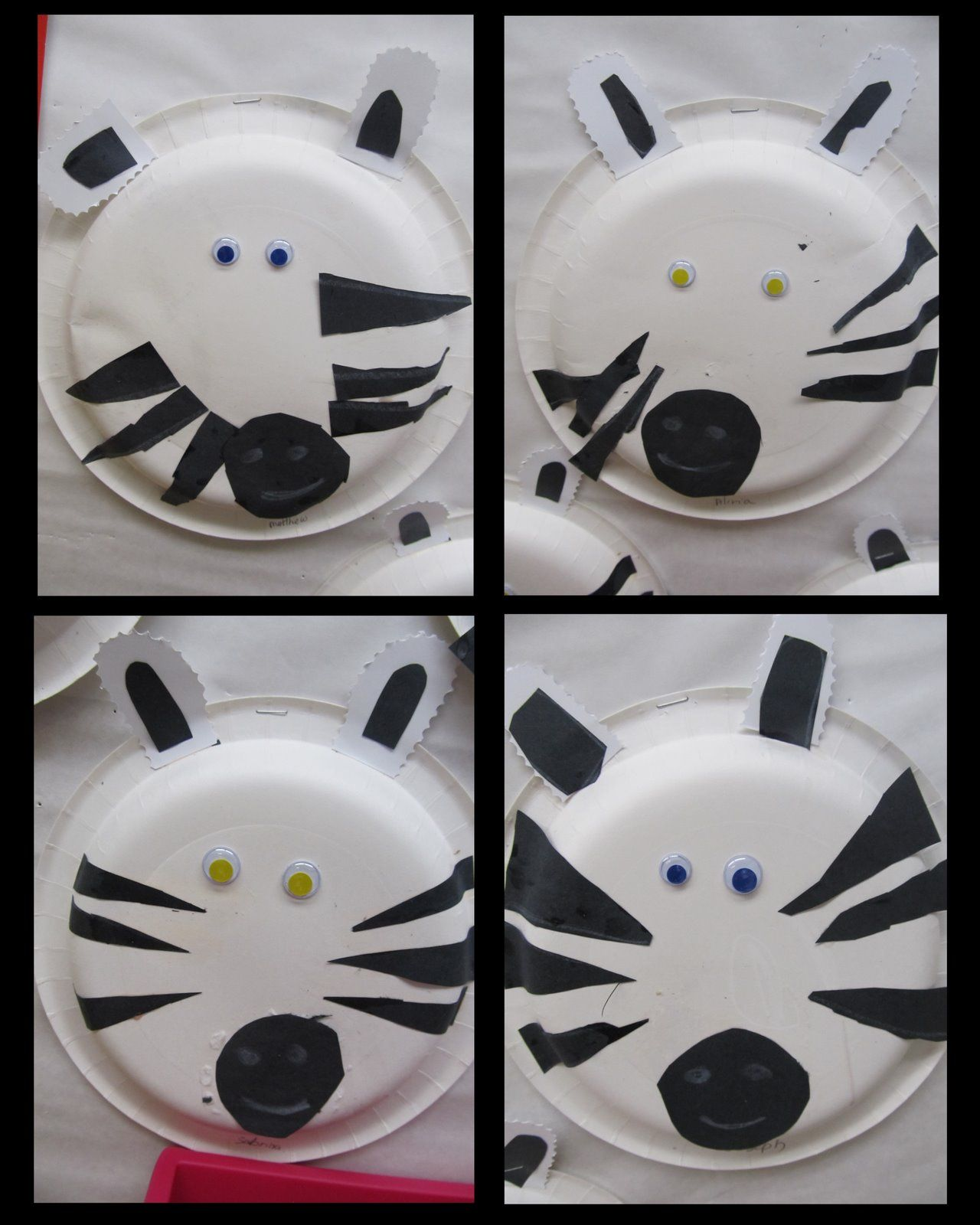 Paper Plates + Zoo Animals  sc 1 st  Pinterest & Paper Plates + Zoo Animals | Zebra craft Hostess snowballs and ...