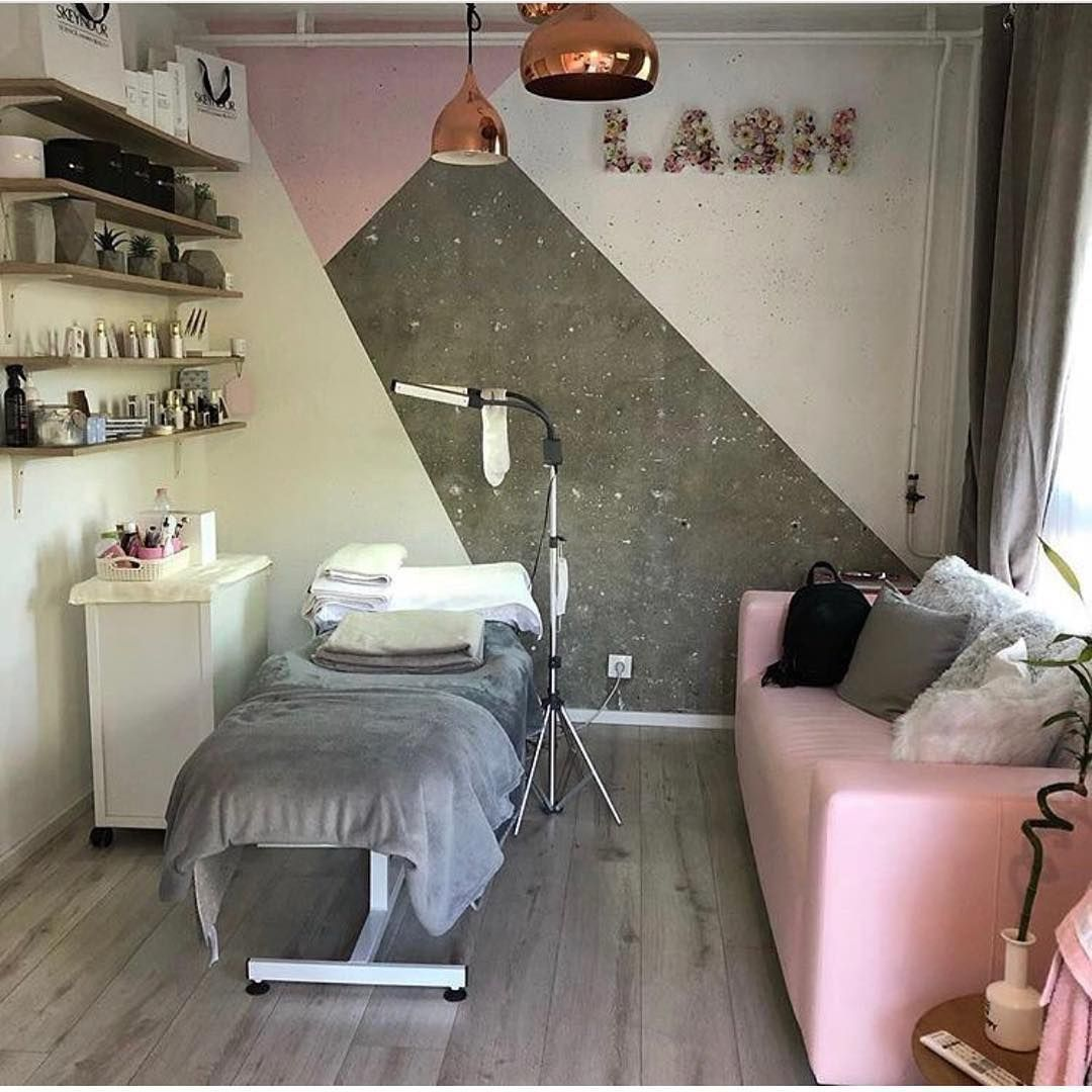 Luxury Salon Interior Design Beauty Salon Interior Design Ideas Nail Salon Interior Design Salon Interior D In 2020 Esthetics Room Esthetician Room Decor Lash Room