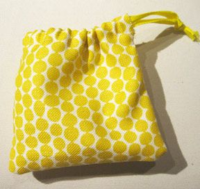 Tutorial string pouch