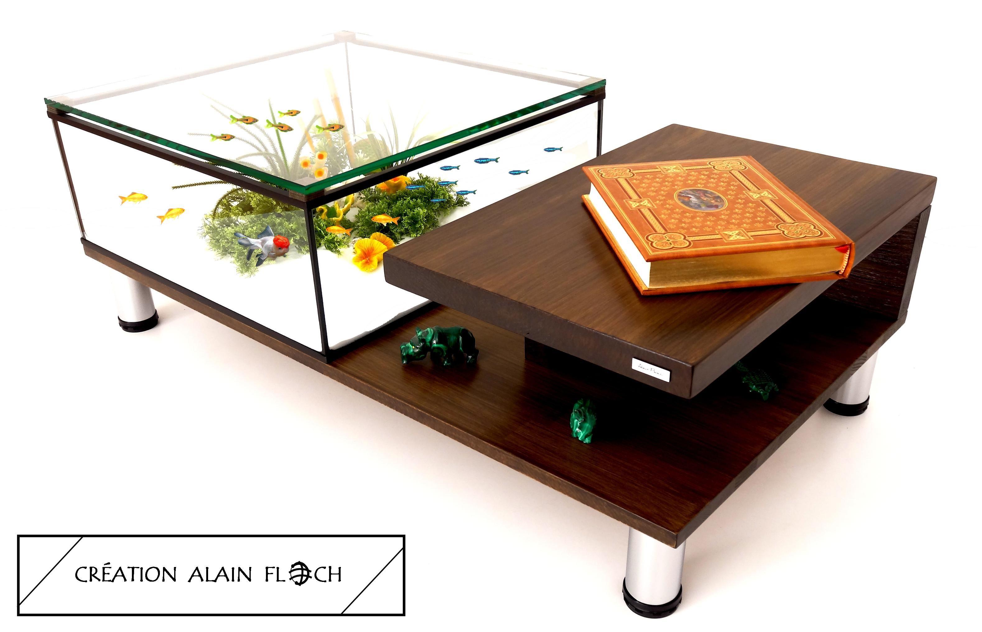 Et Aquarium Basse 20 Led Sans Massif Bois Table Annabelia En Fil nwN8mv0