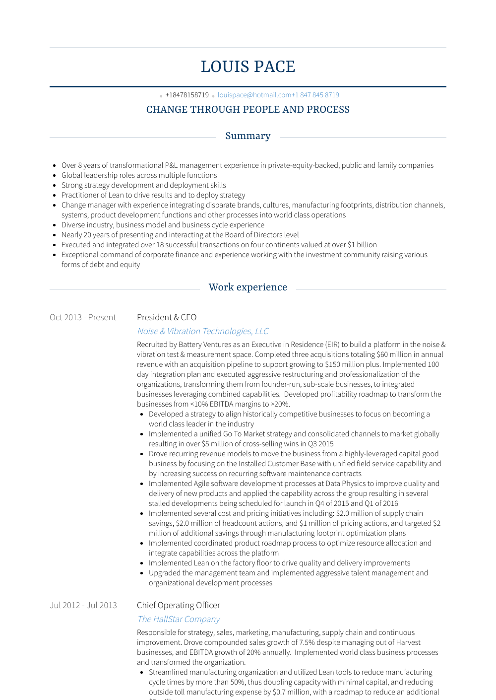 Chief Operating Officer Resume Best Of Chief Operating