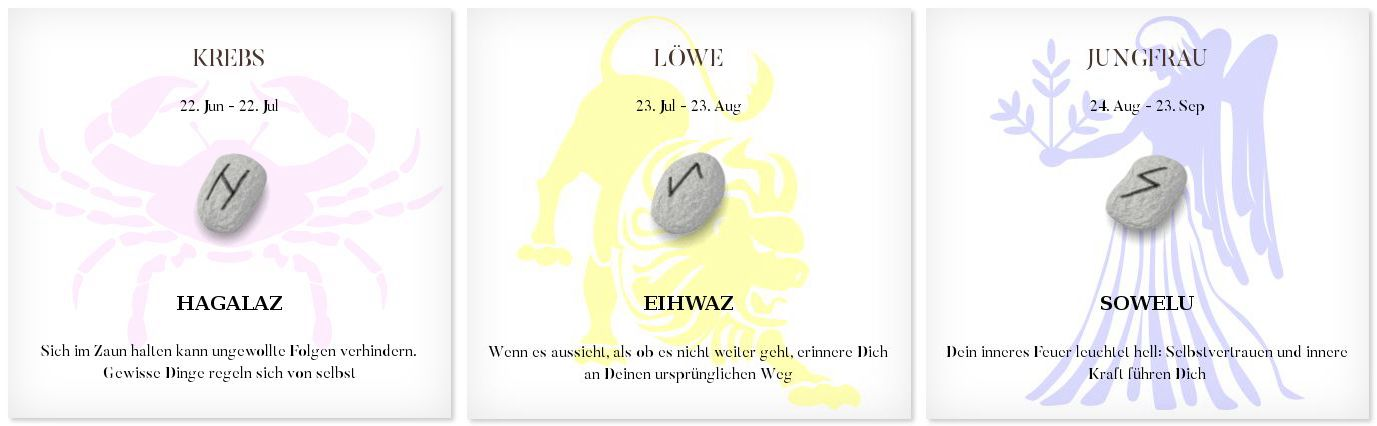 Runen Tageshoroskop 3.12.2016 #Sternzeichen #Runen #Horoskope #krebs #löwe #jungfrau