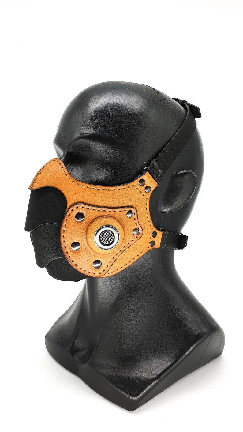 Máscara de respirador máscara Steampunk máscara hecha a
