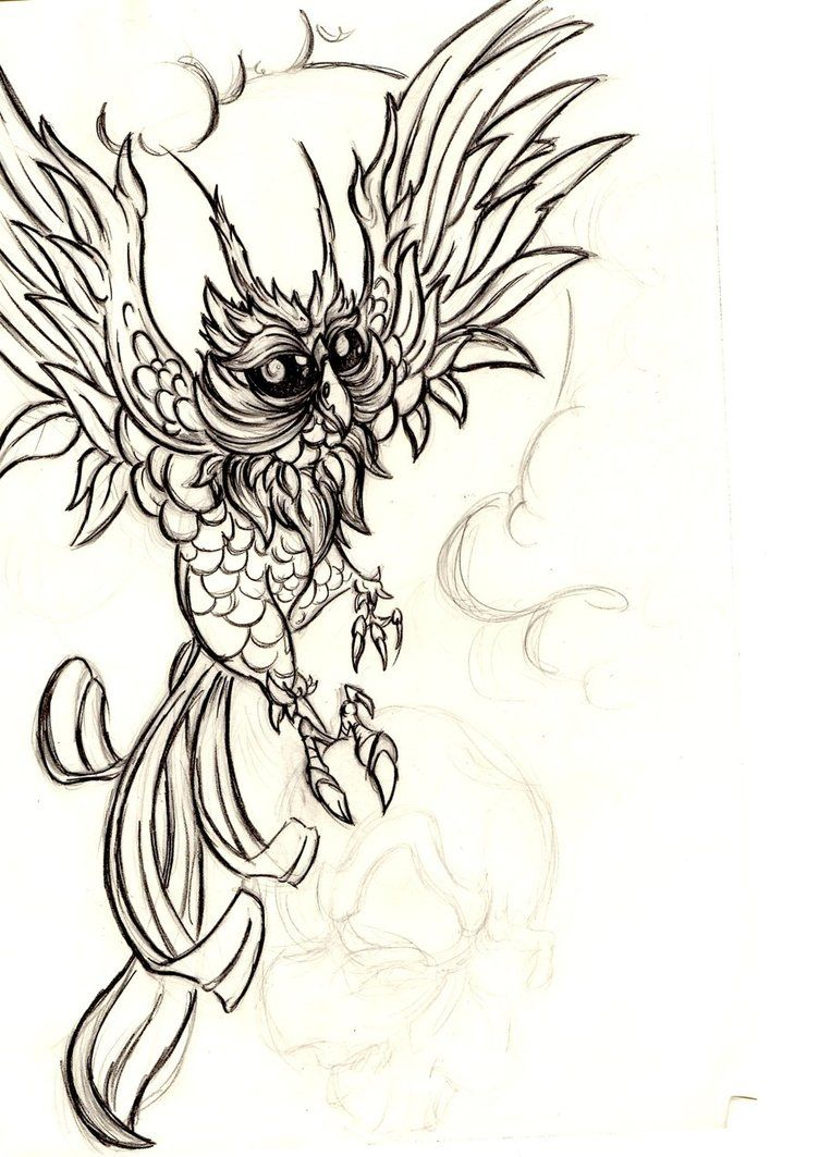 Owl sleeve design stage 1 by FoxyDoodle on deviantART