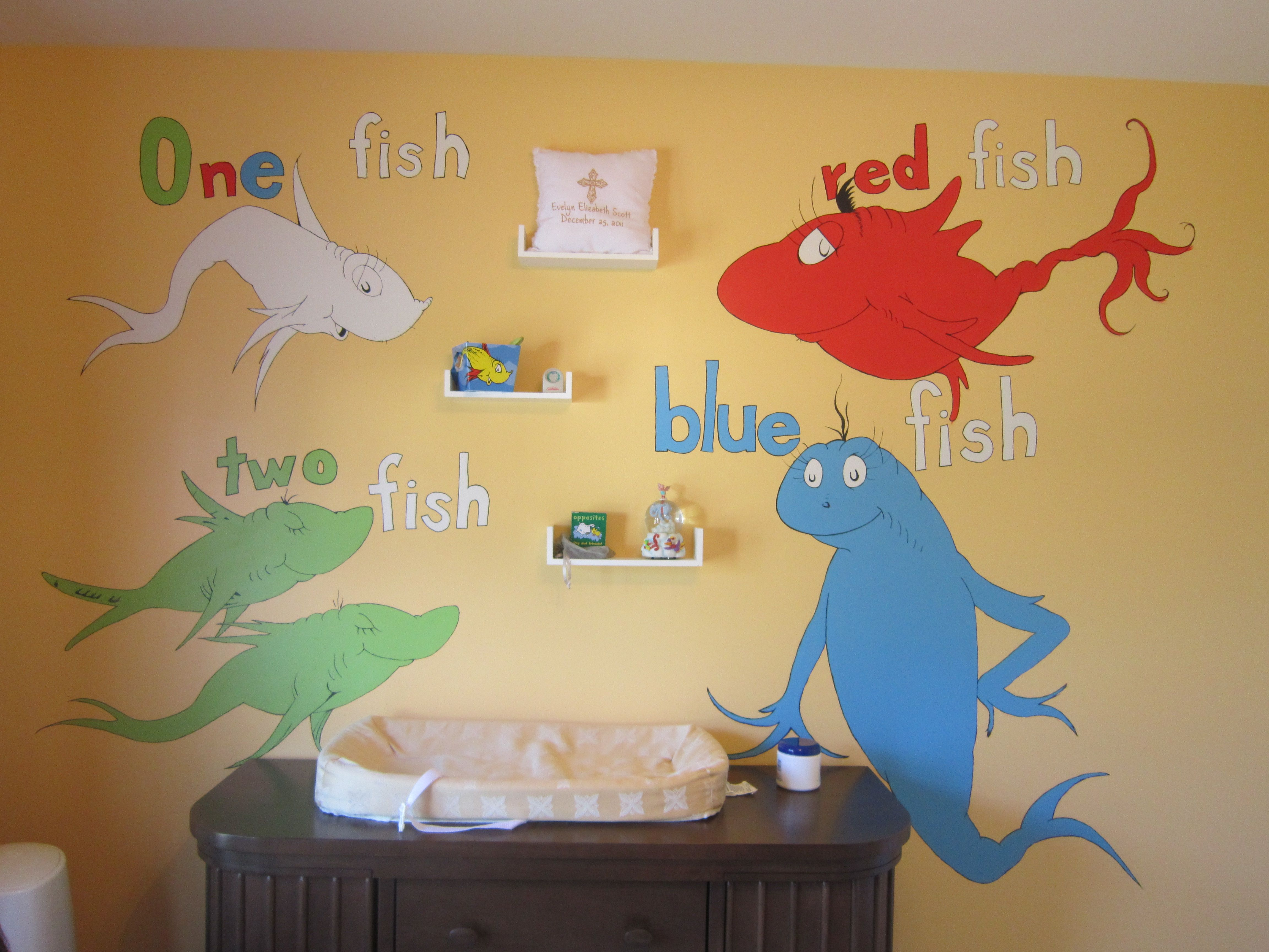 Dr Seuss Nursery Ideas
