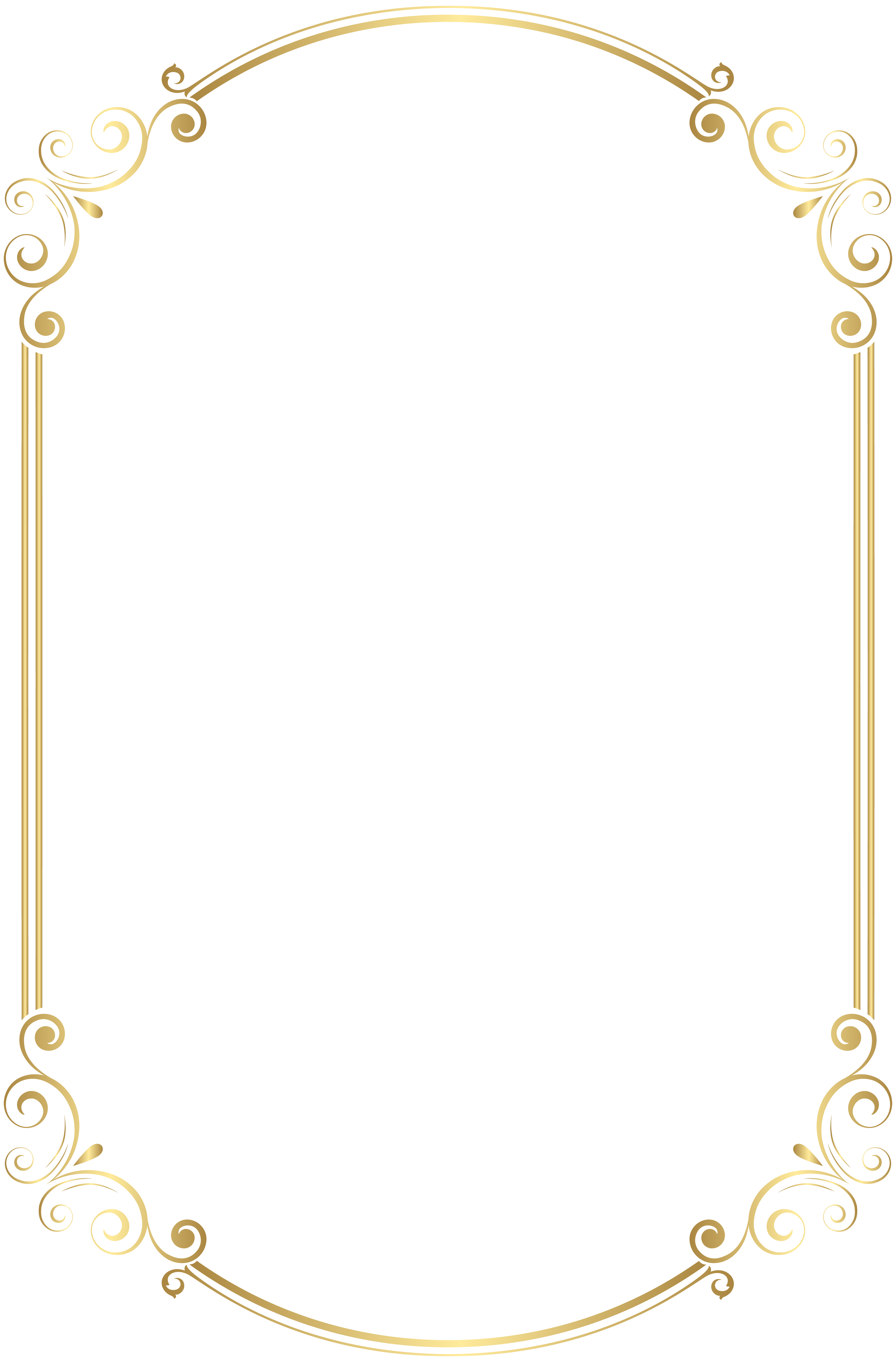 Frame Border Clip Art Png Gold Image Gallery Yopriceville High Quality Images And Transparent Png Free Frame Border Design Clip Art Borders Free Clip Art