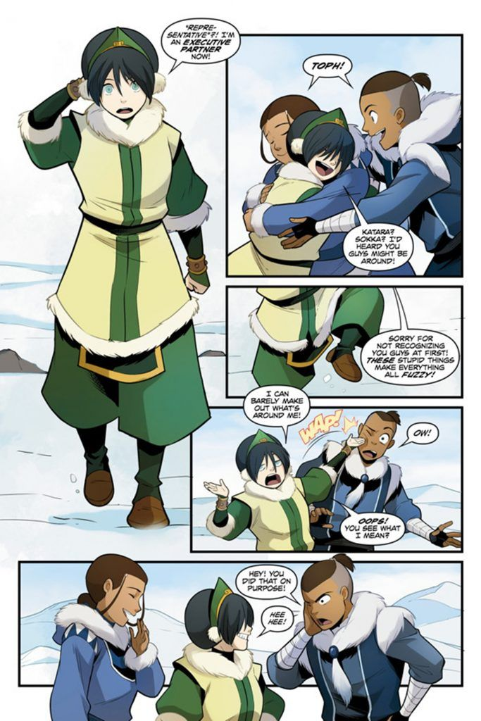 Avatar the last airbender katara comic opinion you
