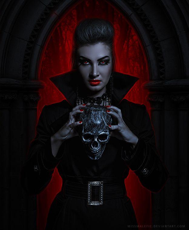 [The Countess by MissMalefic on deviantART]   Goticas ...