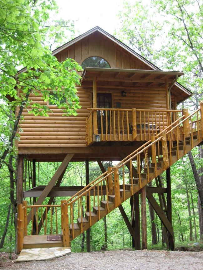 Eureka Springs B B Beauties Treehouse Cottages Eureka Springs Branson Missouri Vacation