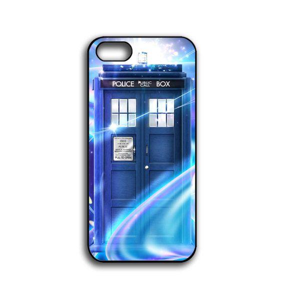 Iphone 5 Hard Case Tardis Door Doctor Who Phone By