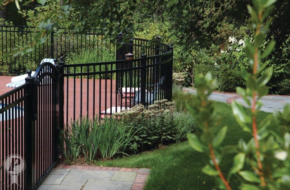 Everdur Ornamental Picket Imperial Fence Backyard fences