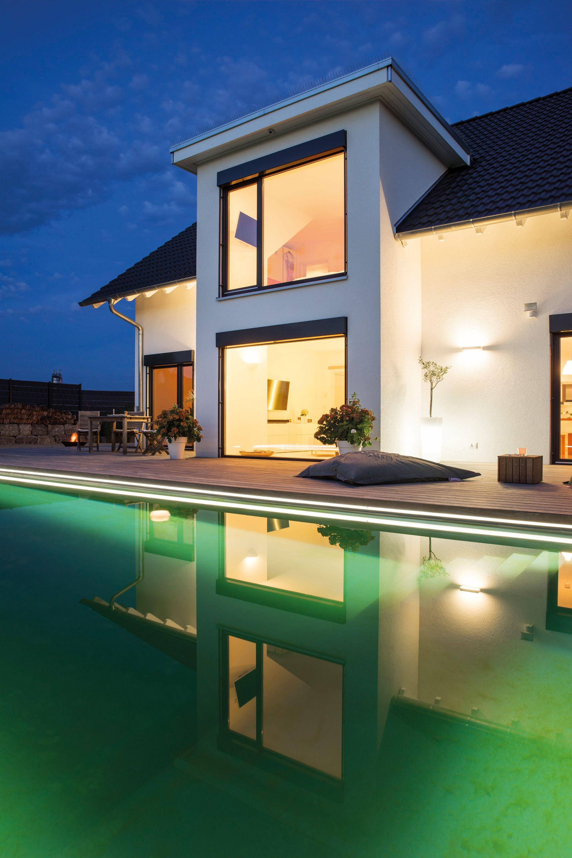 Moderne Terrasse mit Swimmingpool | Ideen rund ums Haus ...