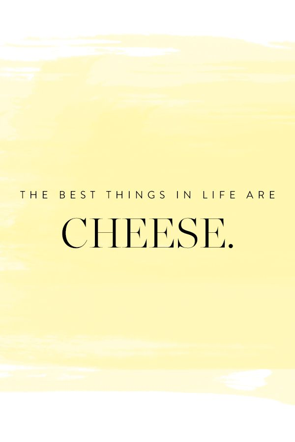 d81006a359cb The best things in life are cheese. Facts of life. Nothing better ...