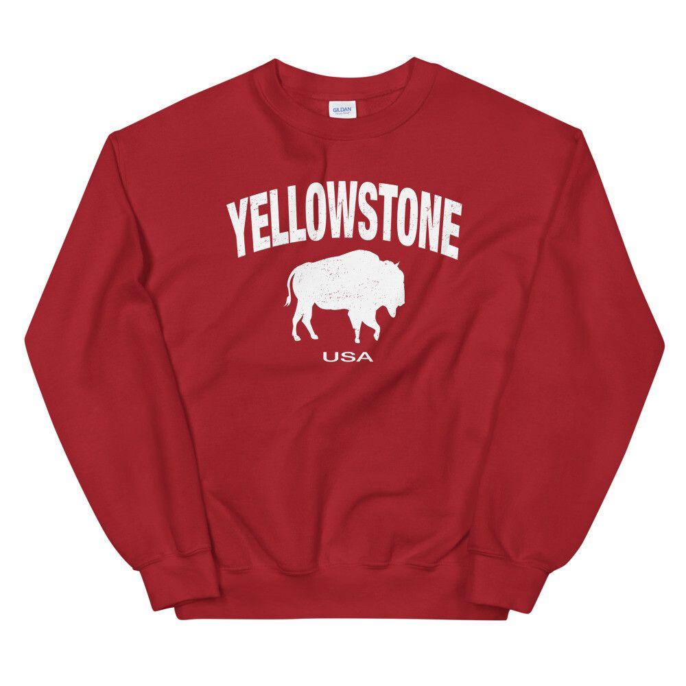 Yellowstone Wyoming Montana Idaho Sweatshirt (Multi