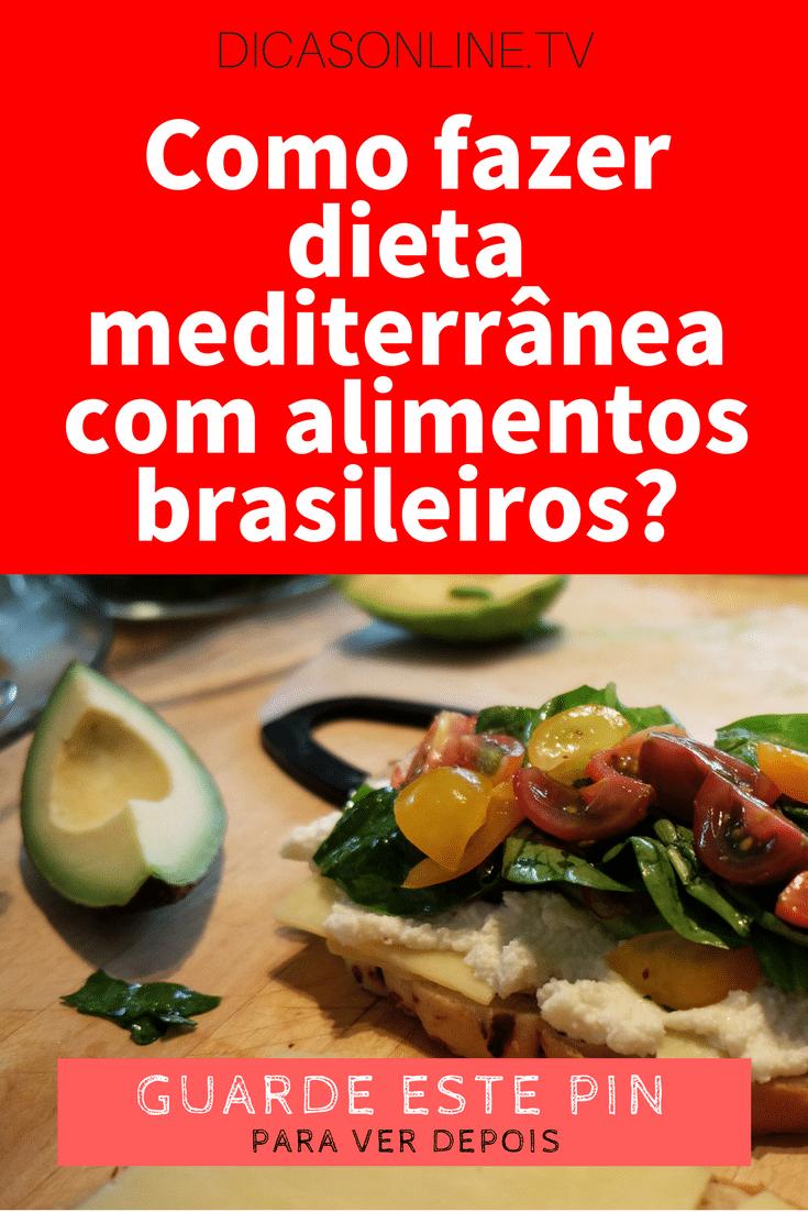 Perder peso con dieta mediterranea recetas