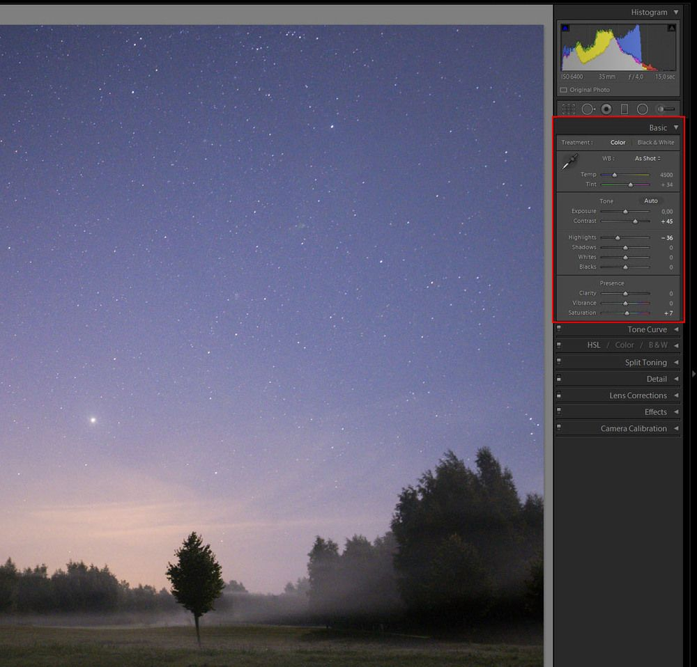 How To Process Star Night Sky Pictures In Lightroom 5 Photoshop Sky Pictures Night Photography Lightroom