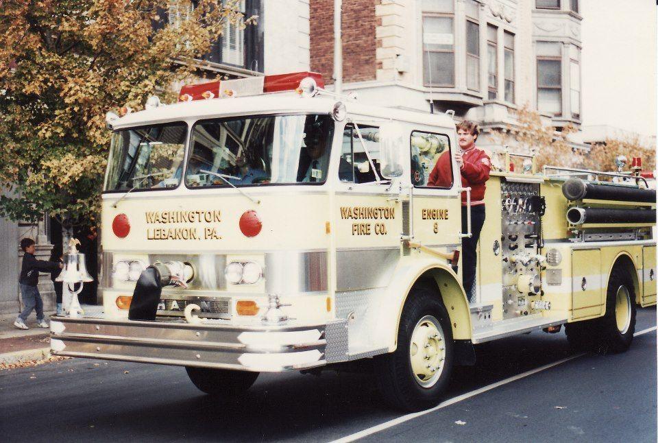 Washington Fire Co Lebanon, PA Fire apparatus, Fire