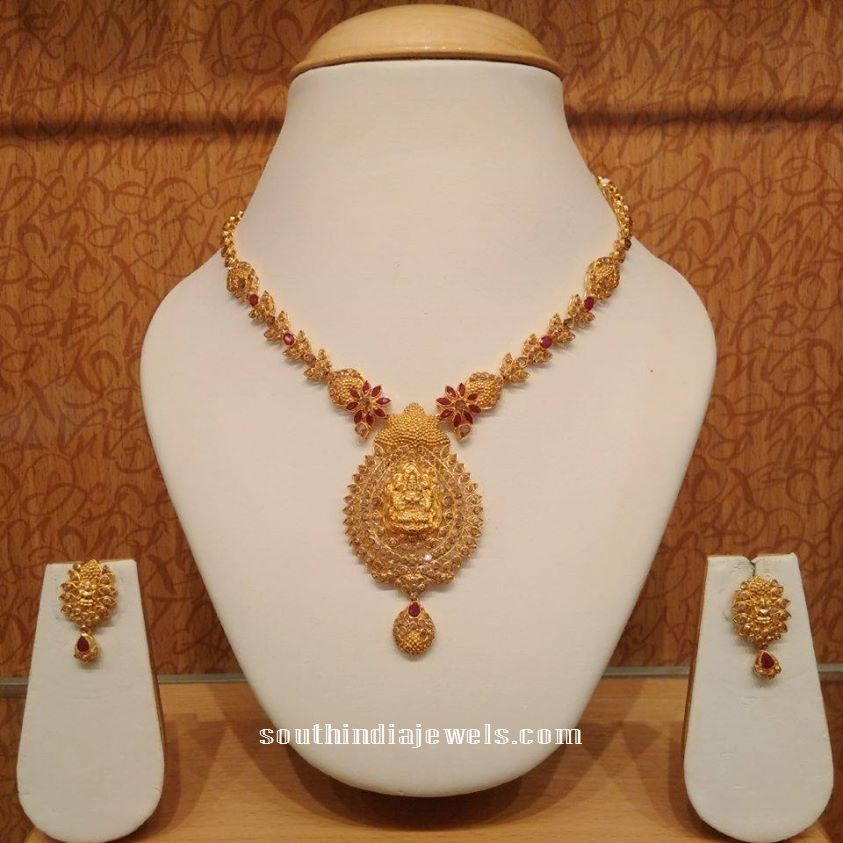 Latest temple jewellery neckalce from NAJ | Necklace Collections ...