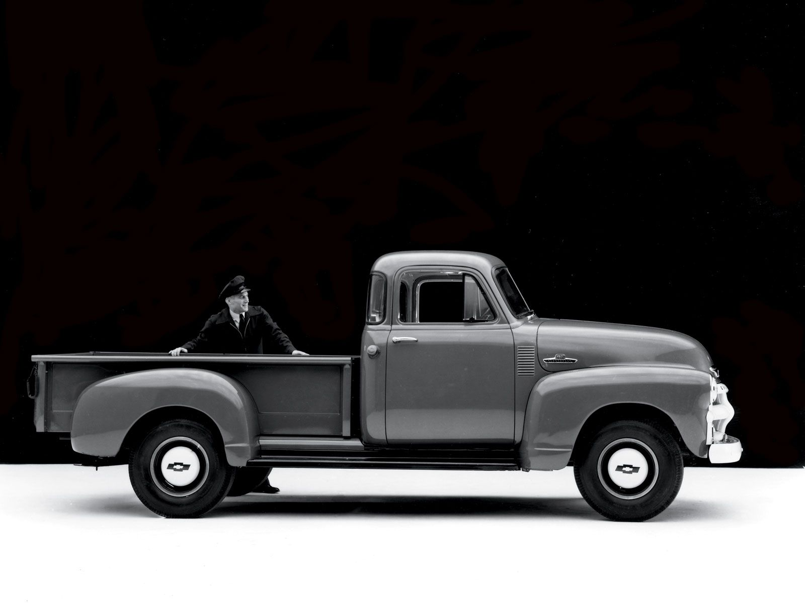 Old Chevy Trucks | 1947 Chevy Shop Truck Introduction Classic Chevy ...