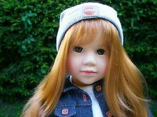 Götz Puppe Henrike 45 cm aus 2003 rothaarig Weichstehpuppe Gotz Doll