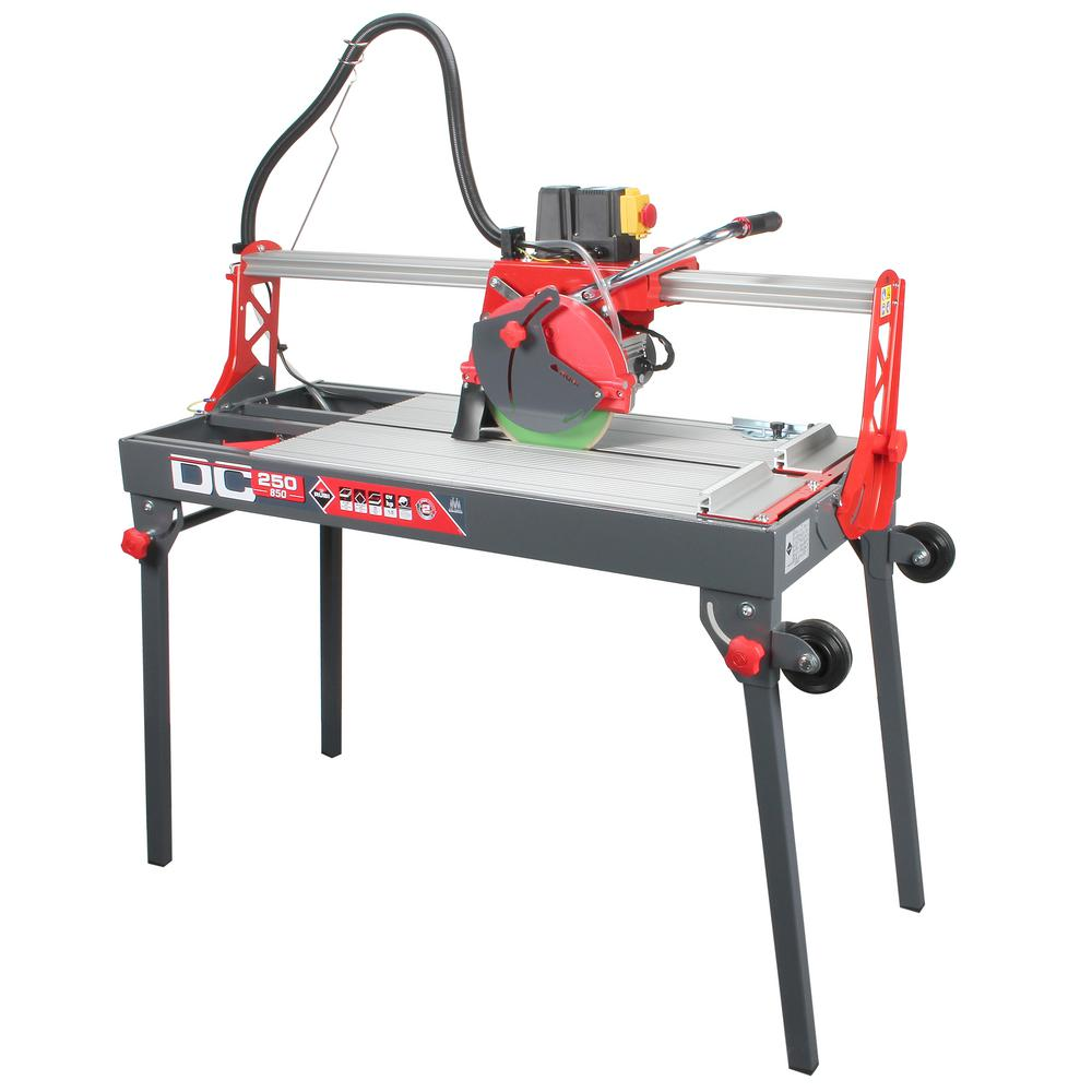 Rubi 10 In 120 Volt Tile Saw Dc 38 In Tile Saw Decking Material Rubi