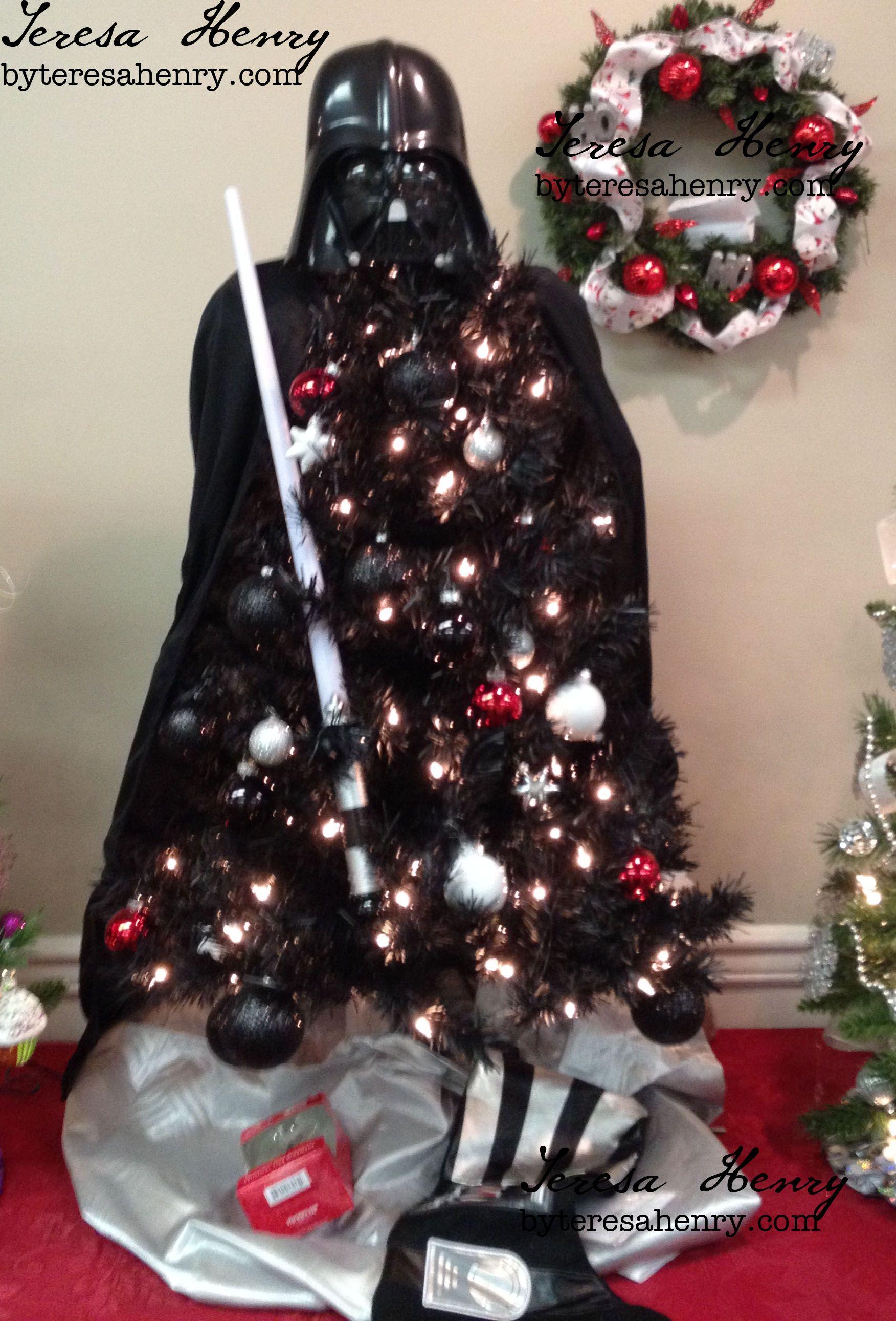 Darth Vader Christmas Tree 2014 - Made for the Blue Ridge Arts ...