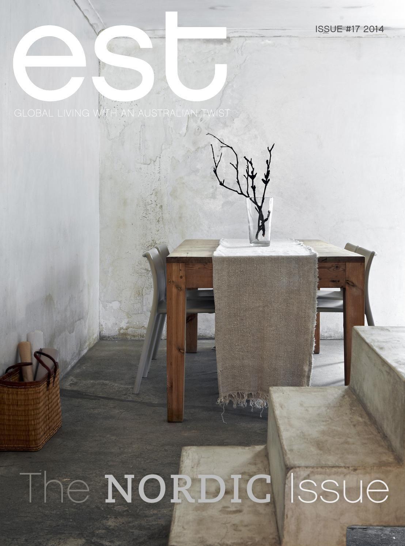 Est Magazine Issue 17 Case, Tavoli, Legno